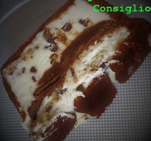 Semifreddo Pavesini,Nutella,Mascarpone