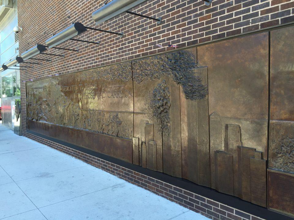 Monumento dedicato agli eroi dell' 11 settembre
