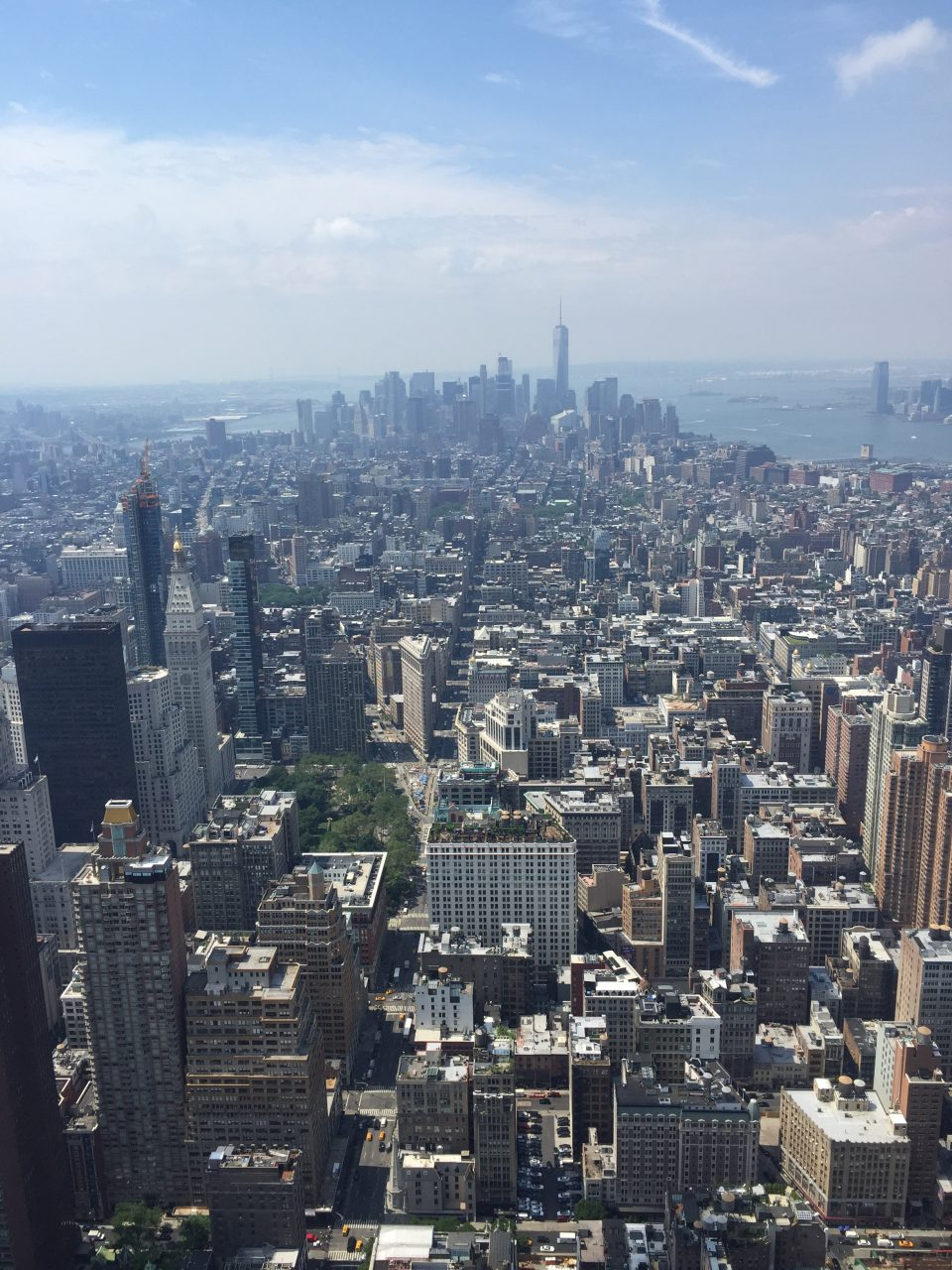 Panorama 86° piano Empire State Building