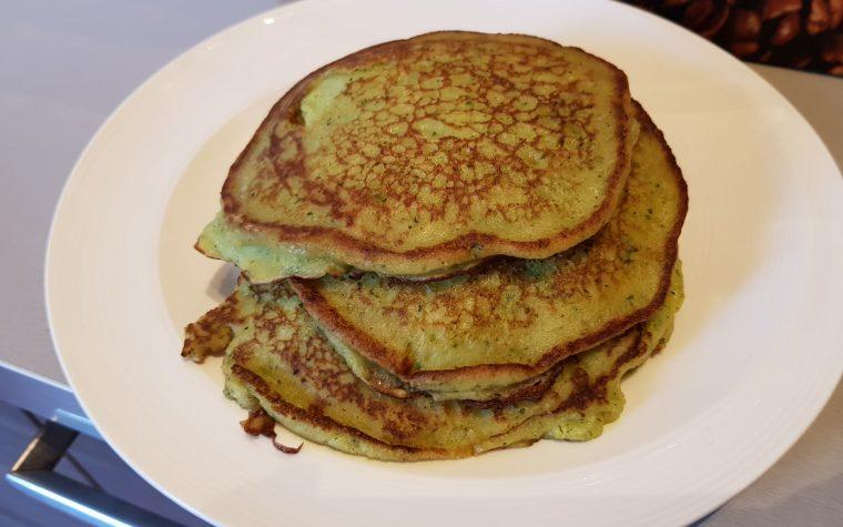 Pancake Salati con Zucchine e cipolle