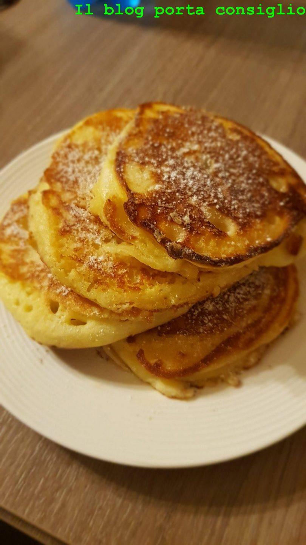 Pancake ripieni alla nutella  pronti