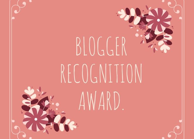 Blogger Recognition Award:I blog da non perdere!