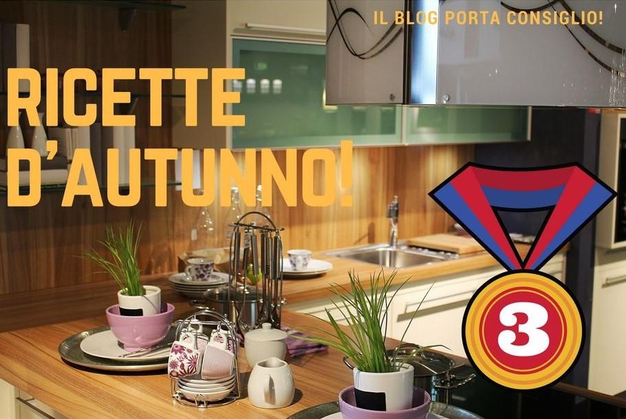 RICETTE D'AUTUNNO 3 POSTO
