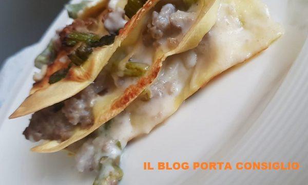 Lasagne Asparagi e Salsiccia